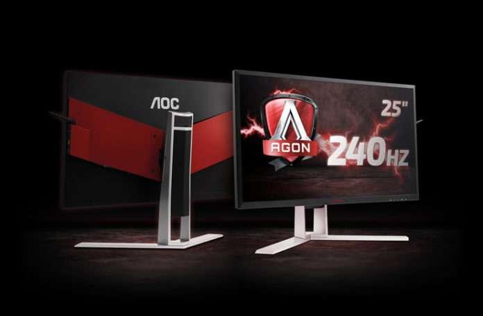 AOC'nin şimdiye kadarki en hızlı AGON oyun monitörü artık mağazalarda