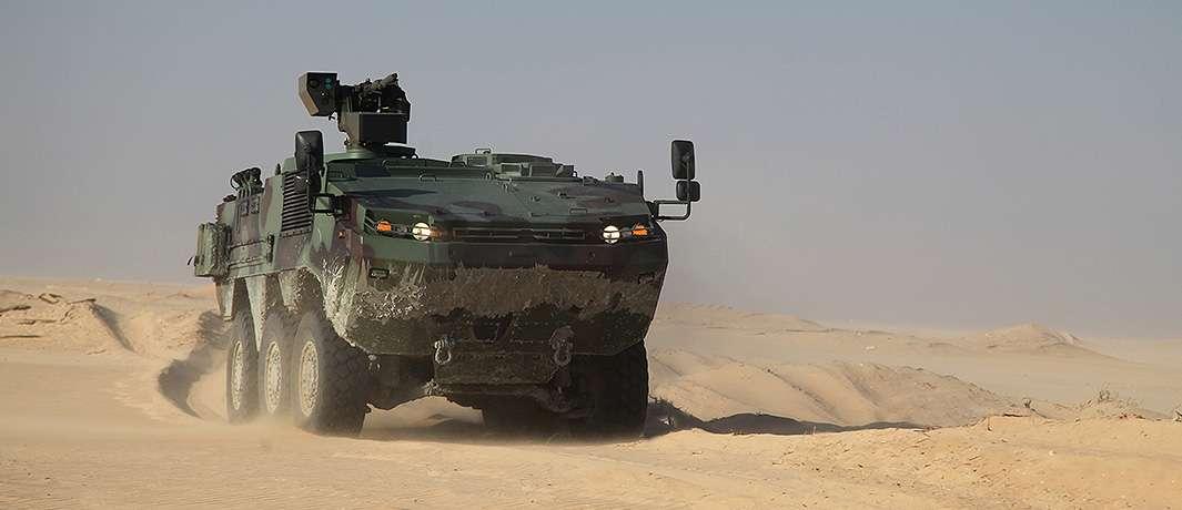 Arma-6x6 zırhlı