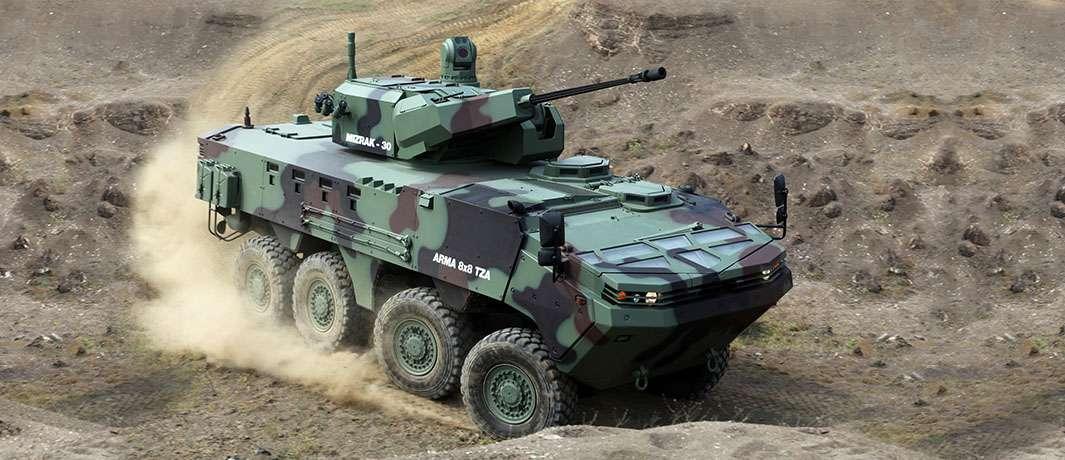 Arma-8x8 zırhlı