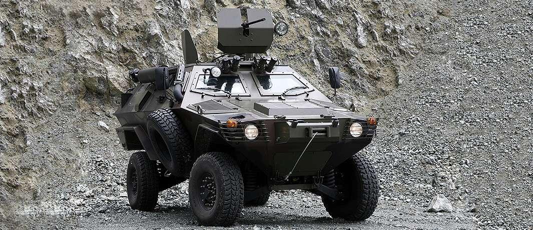 Cobra-01 Zırhlı