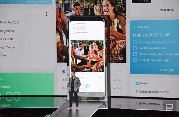 Bixby, telefonun donanımı ile sıkı ilişkisi sayesinde
