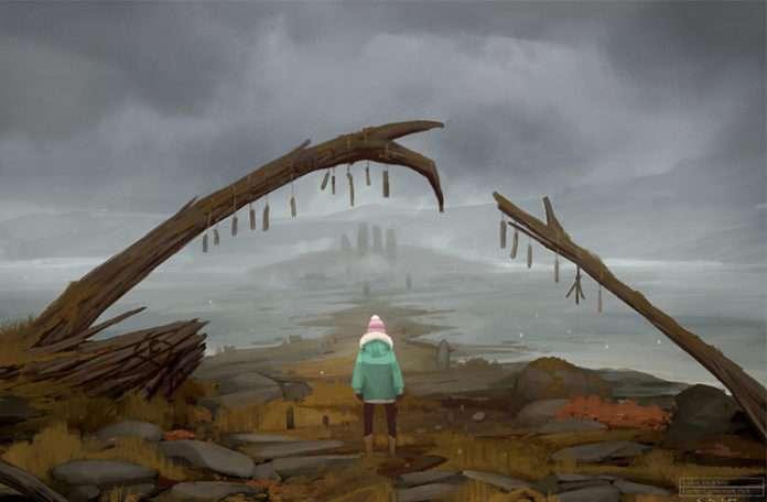 Ürkütücü bir yürüme simülasyonu: 'Lake Ridden'