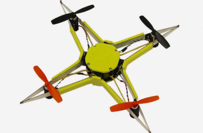 Böceklerden ilham alarak tasarlanan quadcopterler çarpışmalara karşı oldukça dayanıklı