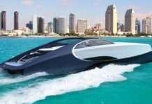 Palmer Johnson tarafından tekneye dönüştürülen Bugatti Chiron, benzersiz aksesuarlara sahip