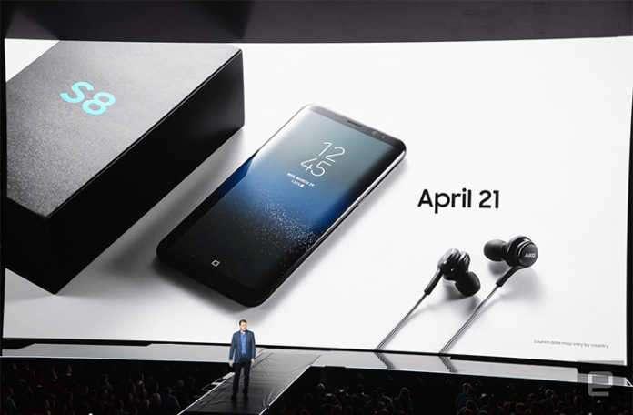 Galaxy S8'de ses kalitesi ön planda