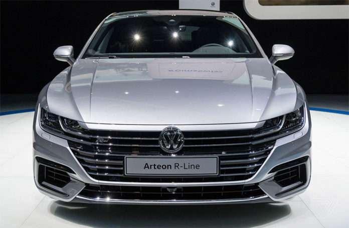 Cenevre Otomobil Fuarı'nda tanıtılan yeni Volkswagen Audi'ye dönmüş durumda