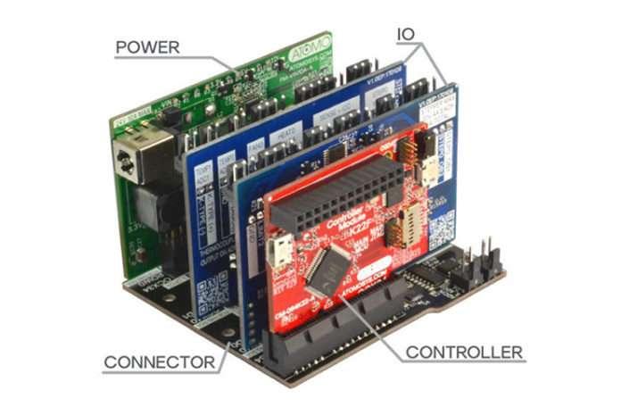 Elektronik sistem ile istediğiniz parçayı LEGO gibi takıp çıkarın