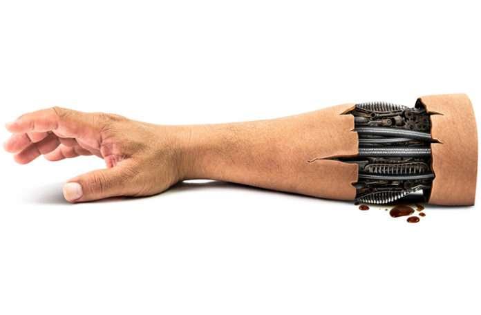 Nakil yapılacak dokular robotlar üzerinde gerçek vücuda hazırlanacak
