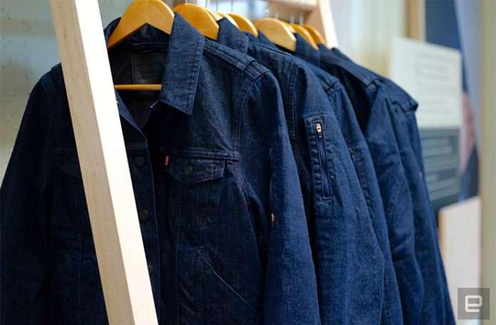 Google ve Levi's ortak yapımı akıllı ceketler yakında piyasaya çıkıyor