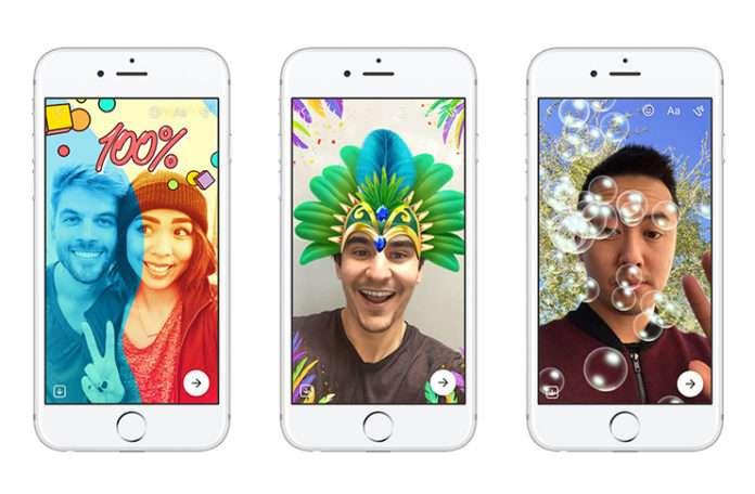 Teknolojileri satın alamazsa taklit eden Facebook bir kez daha Snapchat'i hedef aldı