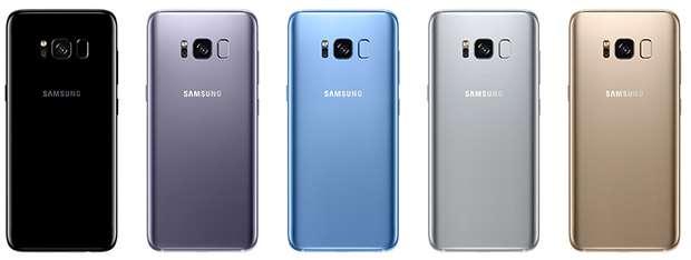 Galaxy S8 Renk Seçenekleri