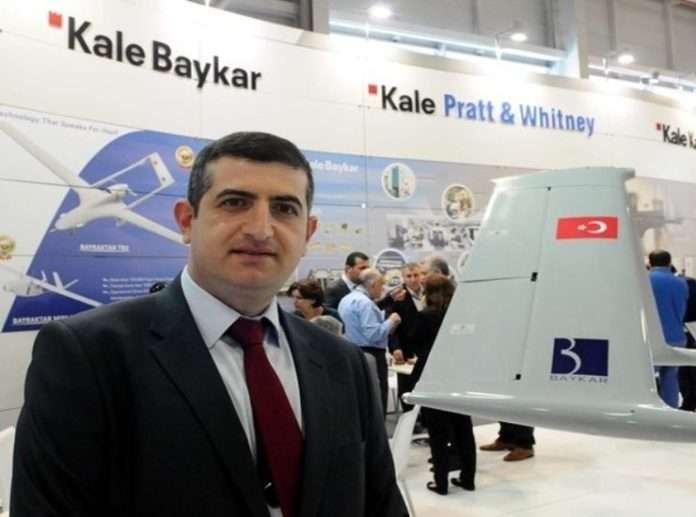 Kale-Bayraktar tarafından yerli olarak geliştirilen insansız hava aracı