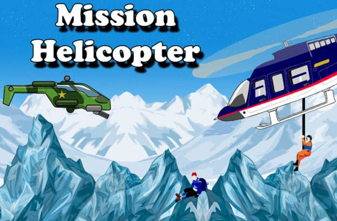 Mission Helicopter Android mobil oyunu ile insanları kurtarın!