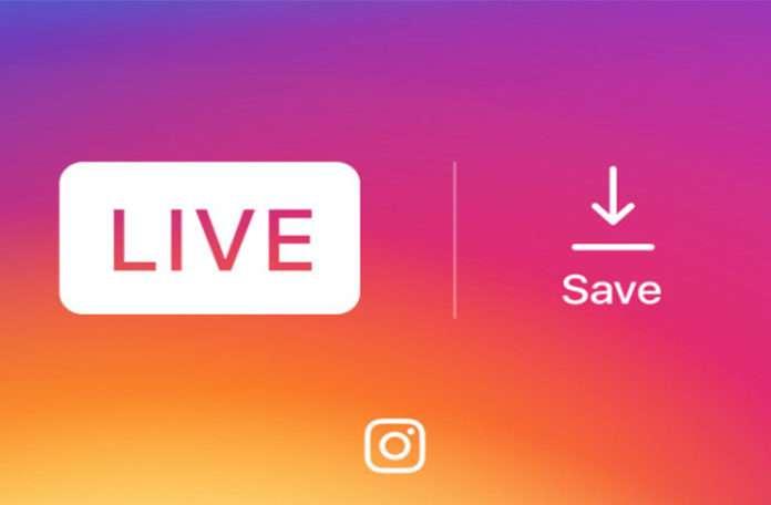 Instagram'a canlı yayını kaydetme özelliği geldi.