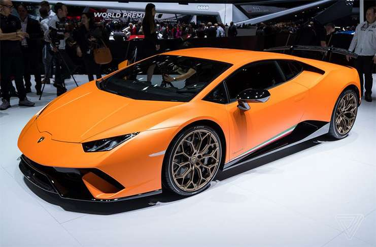 'Lamborghini Huracán Performante' asfaltların yeni kralı olmaya aday
