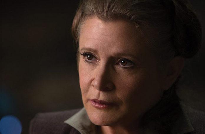 Carrie Ficher'ın ölümü Star Wars: The Last Jedi'ı değiştirmeyecek