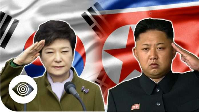 South Korea vs. North Korea