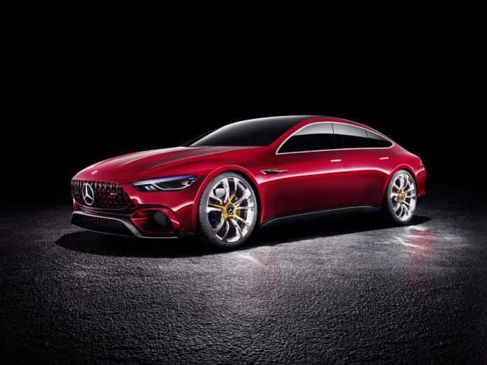 Mercedes'e ait GT Concept modeli