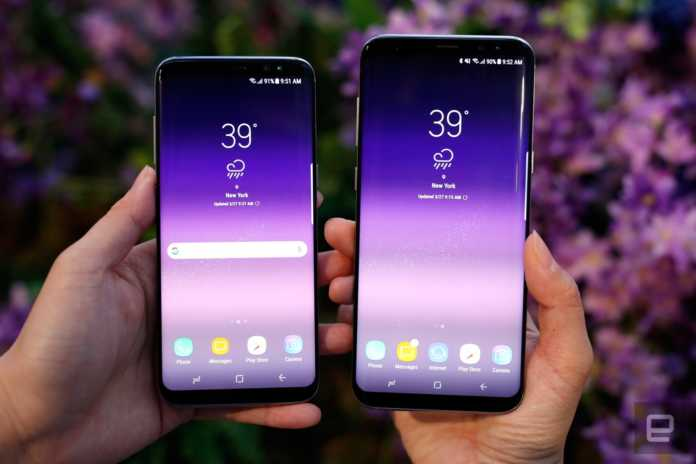Samsung Galaxy S8'in Microsoft sürümü
