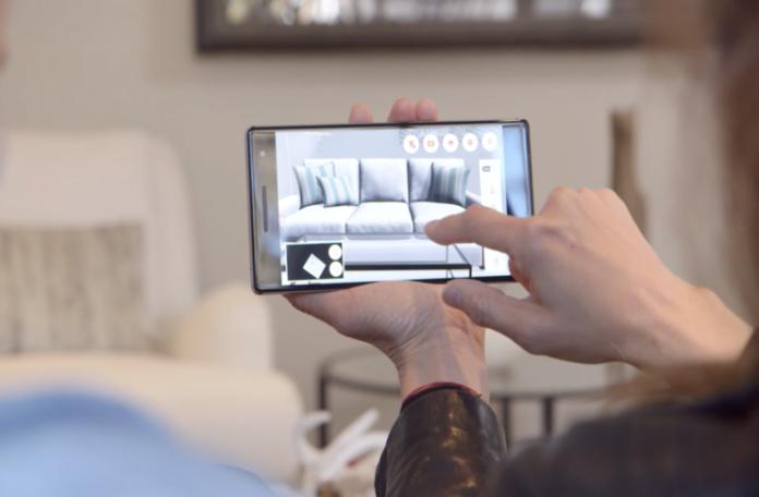 3D Room View arttırılmış gerçeklik uygulaması