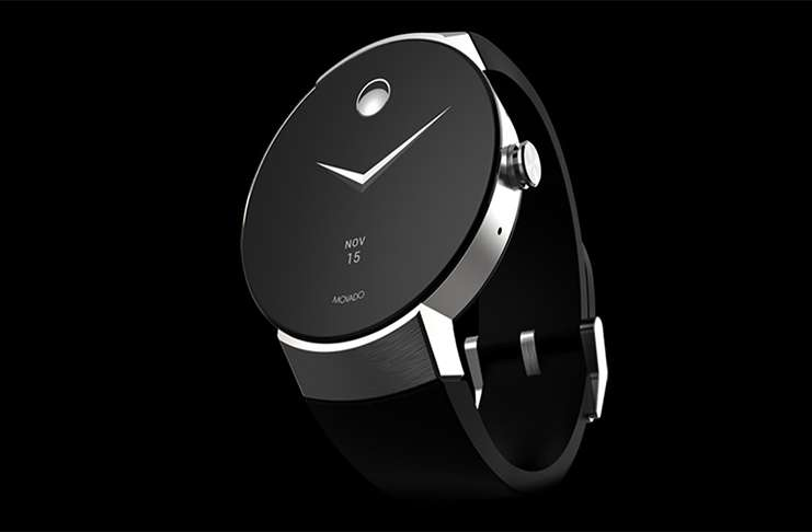 Yeni bir Android Wear: Movado Connect