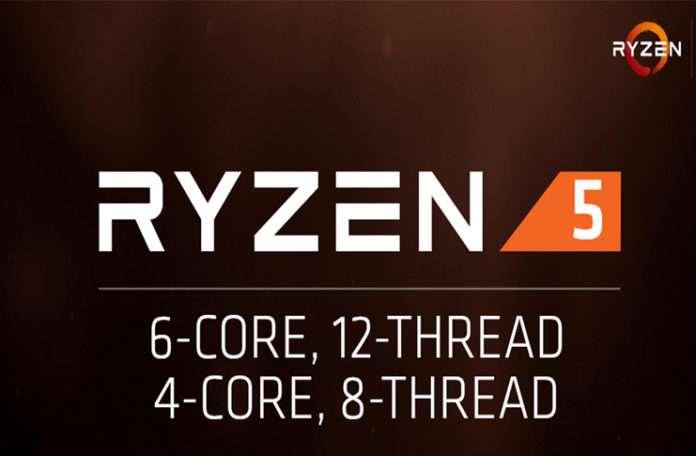 AMD Ryzen 5 serisi işlemciler 4 ve 6 çekirdekli modelleriyle gelecek