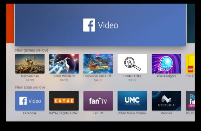 Facebook, dördüncü nesil Apple TV'ler üzerinde çalışacak video-merkezli uygulamasını