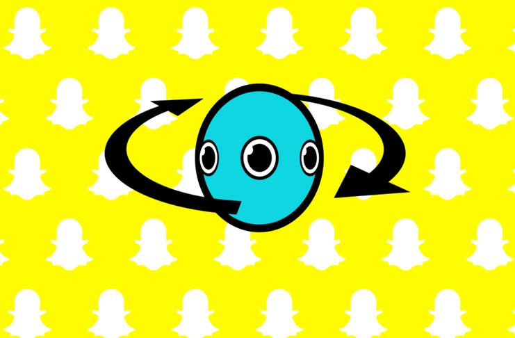 Snap'in yeni keşfi : 360 derece kamera