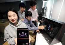 PC üzerinde 3D-hologram imajı