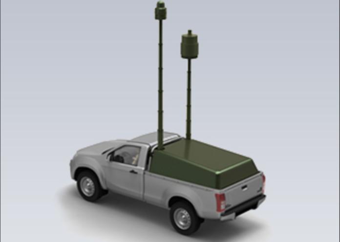 Aselsan Kompakt Radar ED / ELINT Sistemi