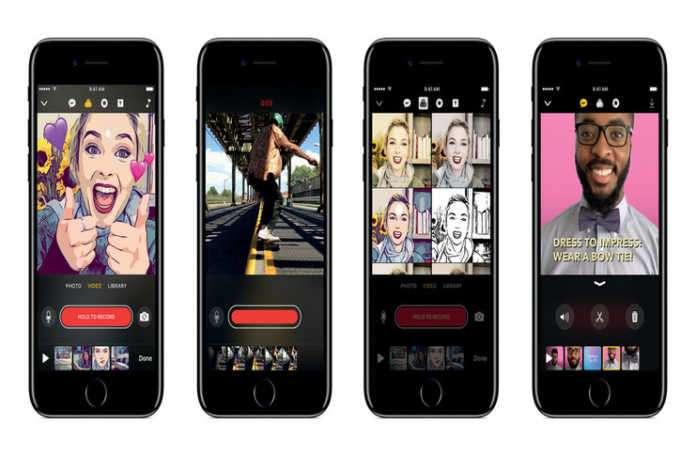 Apple kısa video yapmayı basitleştirmek için tasarlanan yeni Clips uygulamasını yayınladı