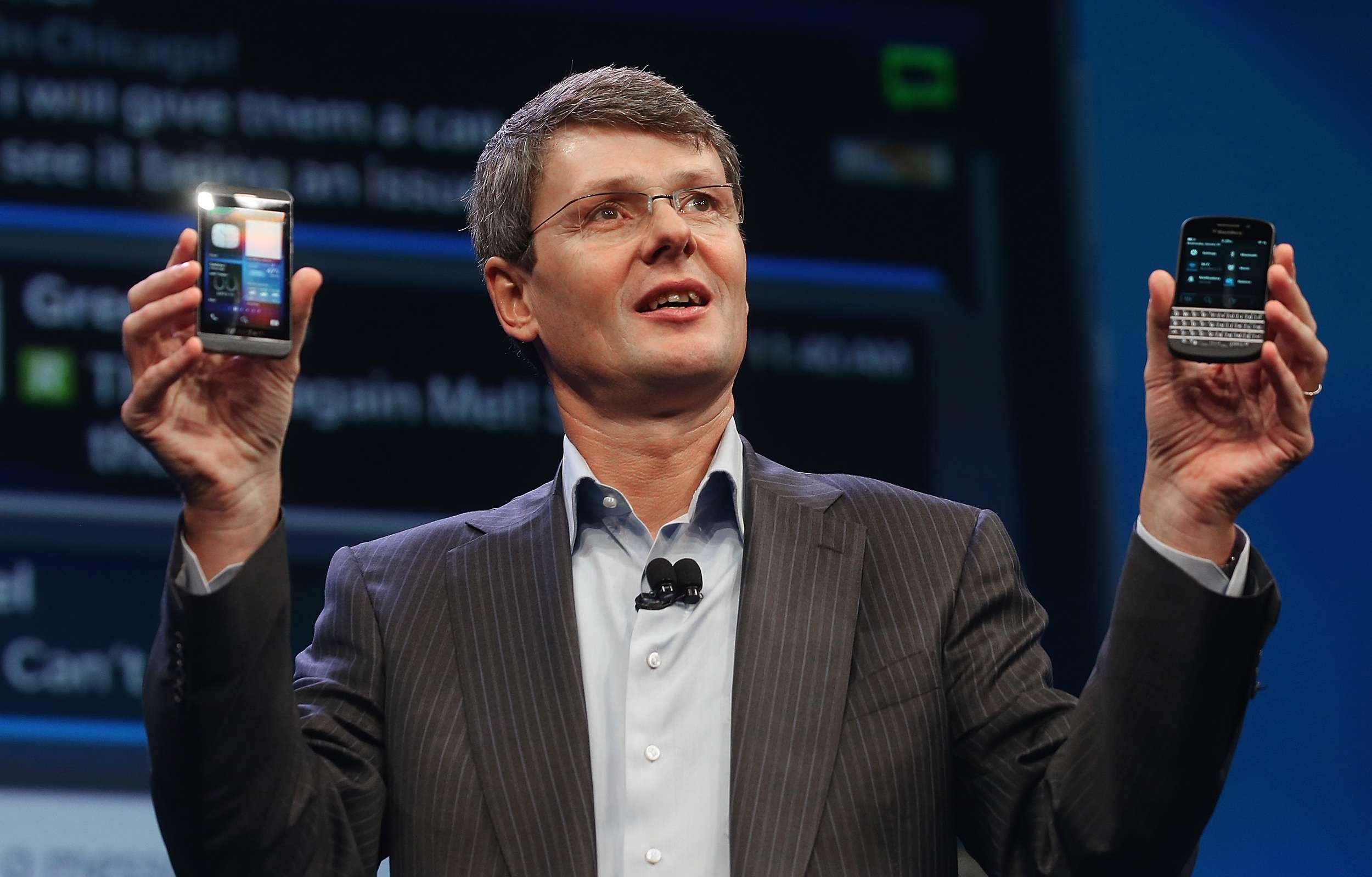 BlackBerry'nin yeni işletim sistemi gösterimi