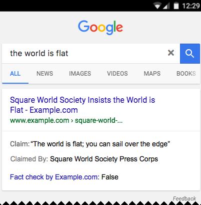 Google Arama'da Bilgi Doğrulama
