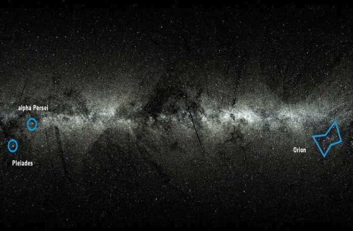 ESA, 2 milyon yıldızın gök yüzündeki yolculuğunu