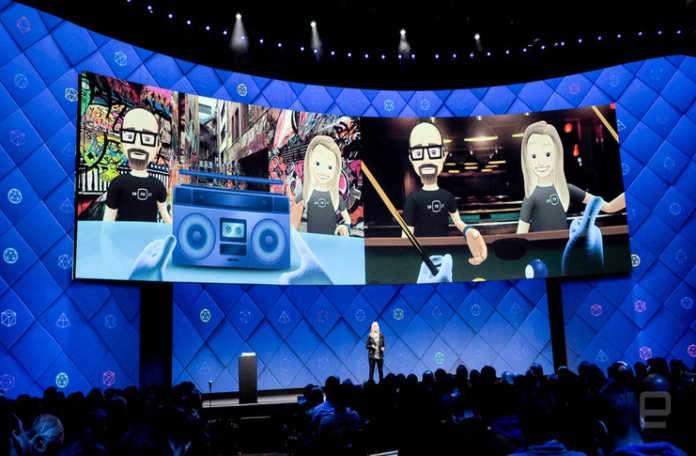 Spaces, Facebook'un sosyal ağ deneyimini VR ortamına aktarma