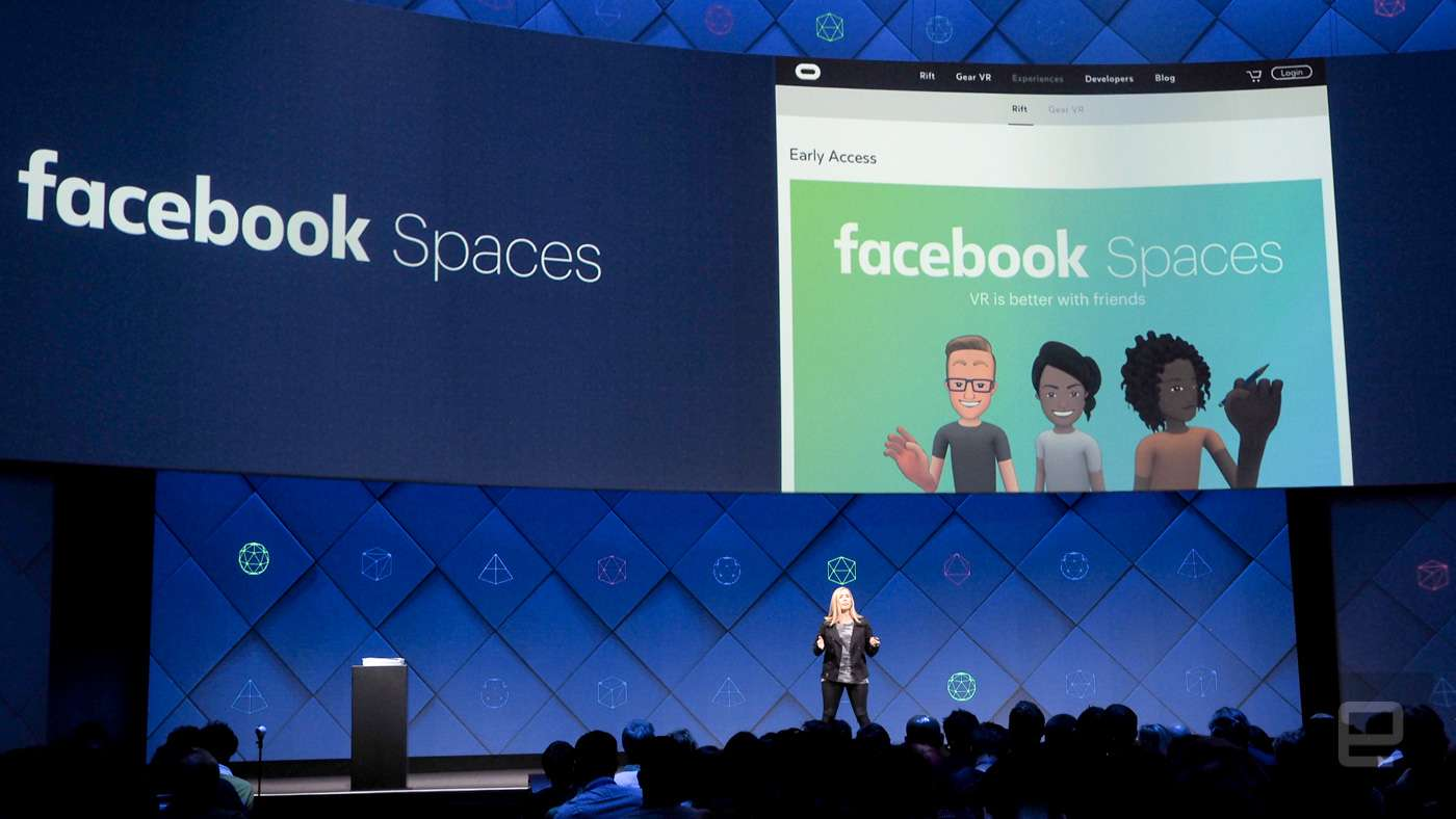 Facebook Spaces F8