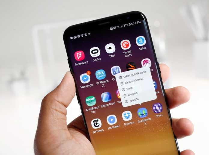 'Play Music' servisinin dağıtımı henüz başlayan Galaxy S8'de