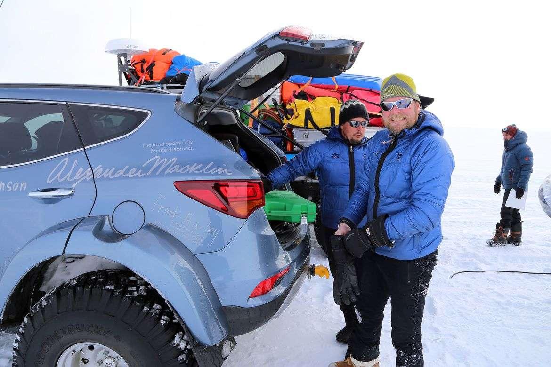 Hyundai Santa Fe Antarktika