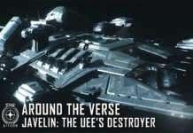 Star Citizen'a güncellemeyle yeni muhrip gemisi 'Javelin' geldi