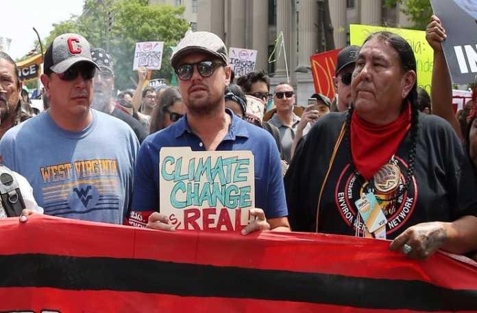 DiCaprio'nun iklim değişikliğine karşı verdiği mücadele