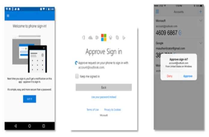 Microsoft, şifre girişi uygulamasını