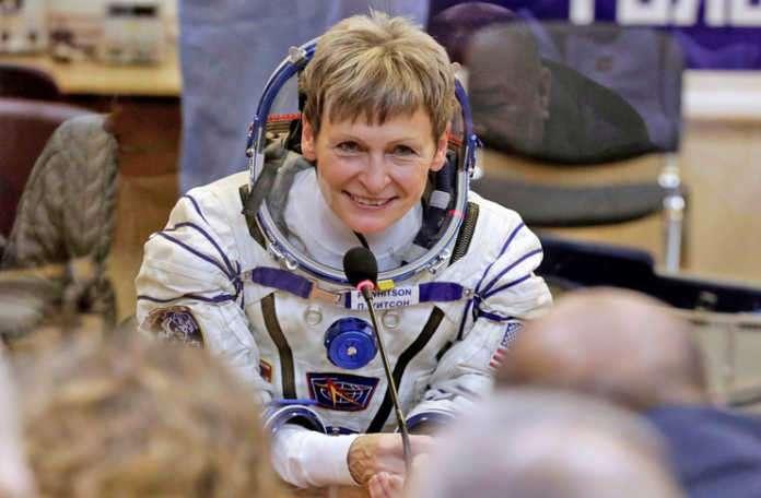 Amerika'lı astronot Peggy Whitson