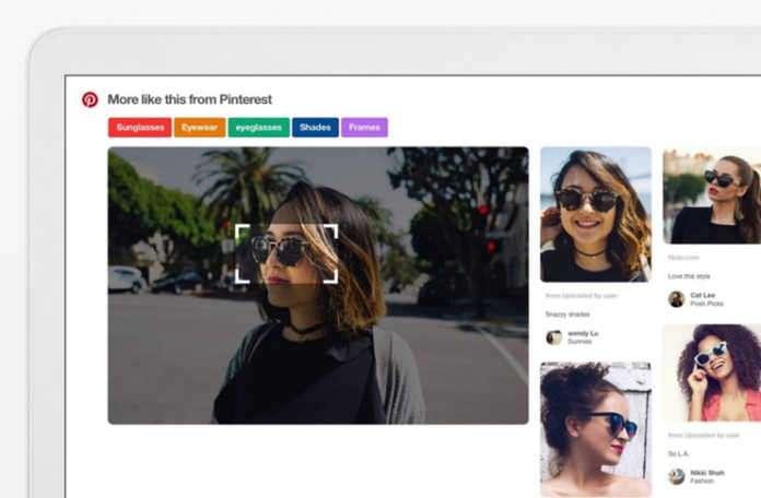 Pinterest, Mart ayında Chrome tarayıcısına 'görüntüsel arama'