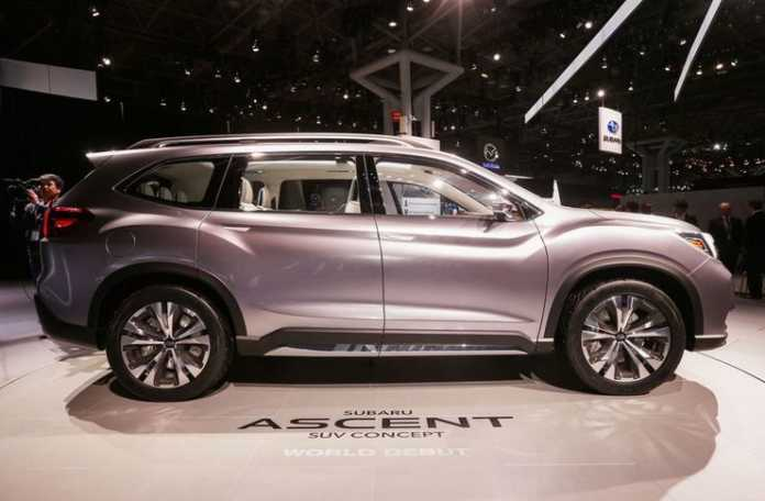 Subaru Ascent, 2018