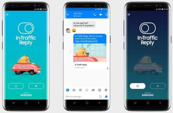 Samsung 'Trafikte Yanıt' uygulaması