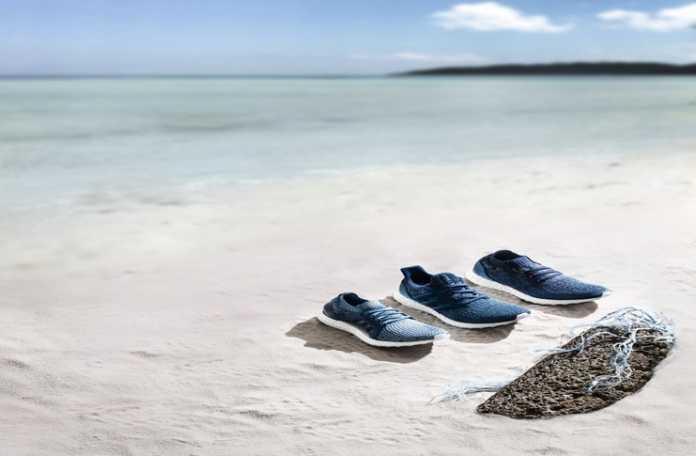 Adidas Parley işbirliği ile okyanus atıklarından koşu ayakkabısı
