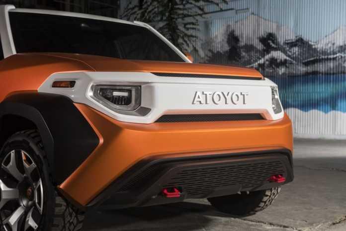 Toyota, yeni FJ Cruiser konseptini duyurdu