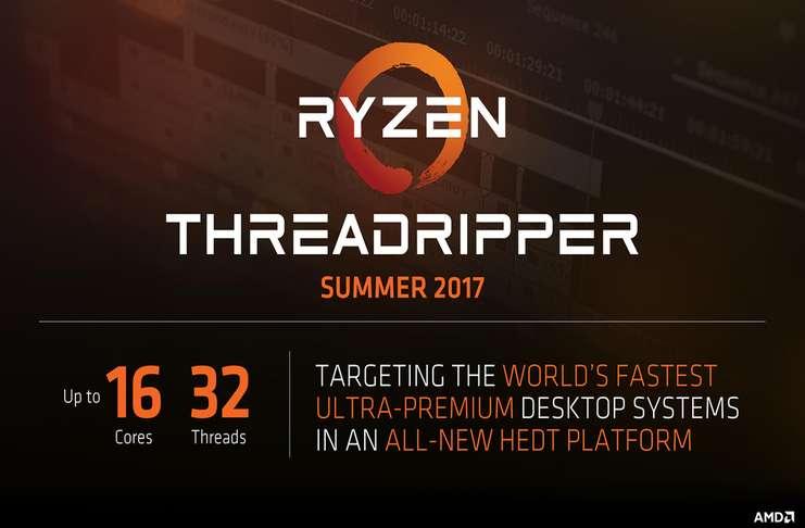 AMD Ryzen Threadripper Duyuruldu