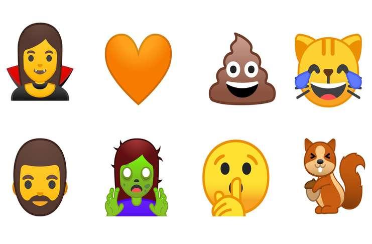 Android O emojilerin çehresini değiştiriyor