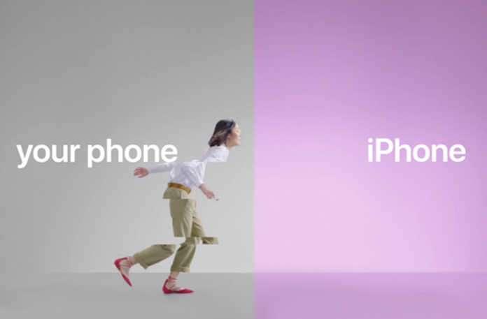 """Apple, Android kullanıcılarını iPhone'a geçirmek için geçtiğimiz pazartesi günü """"Switch"""" adında yeni reklam filmleri yayınladı."""